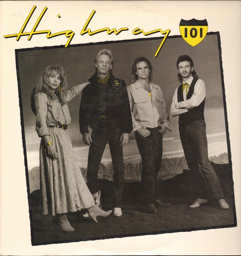 Highway 101 - Highway 101: Whiskey If You Were A Woman, Good Goodbye, Cry Cry Cry, The Bed You Made For Me, Bridge Across Forever (vinyl LP record) - NM9/NM9 - LP Records