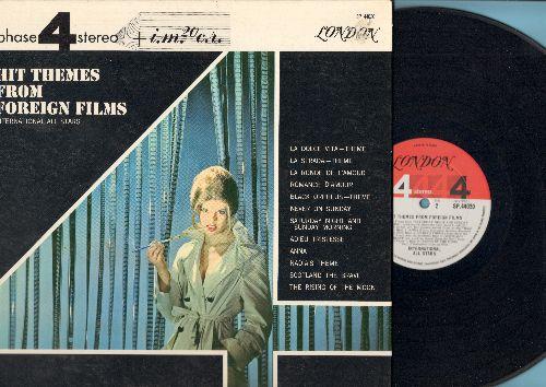 International All Stars - Hit Themes From Foreign Films: La Strada, La Dolce Vita, Never On Sunday, La Ronde De L'Amour, Adieu Tristesse (vinyl STEREO LP record, gate-fold cover) - NM9/EX8 - LP Records