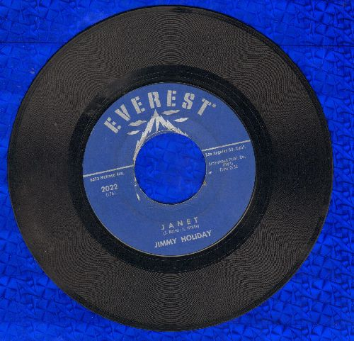 Holiday, Jimmy - Janet/How Can I Forget - VG7/ - 45 rpm Records