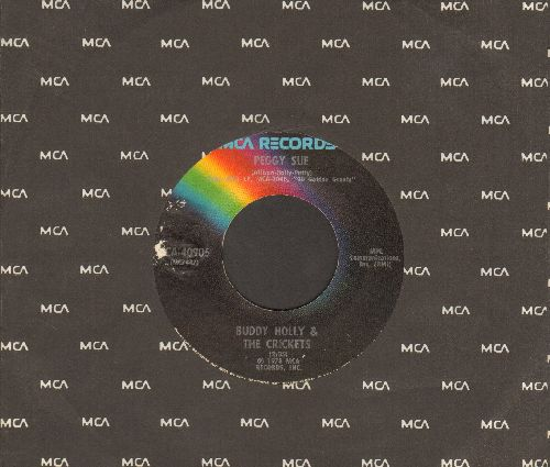 Holly, Buddy - Peggy Sue/It Doesn't Matter Anymore (double-hit re-issue with MCA company sleeve) - VG7/ - 45 rpm Records