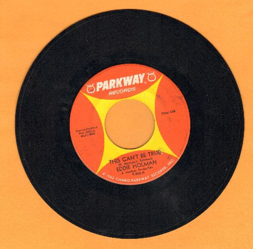 Holman, Eddie - This Can't Be True/A Free Country - EX8/ - 45 rpm Records