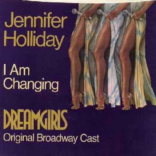 Holliday, Jennifer - I Am Changing (from Broadway Production -Dreamgirls-) (double-A-sided DJ advance copy with STEREO and MONO version, with picture sleeve) - M10/EX8 - 45 rpm Records