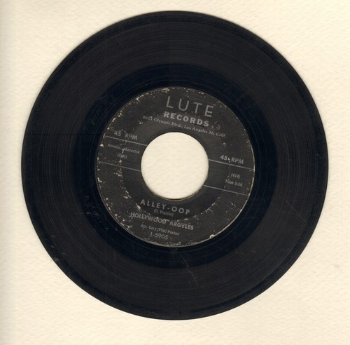 Hollywood Argyles - Alley-Oop/Sho' Know A Lot About Love - VG7/ - 45 rpm Records
