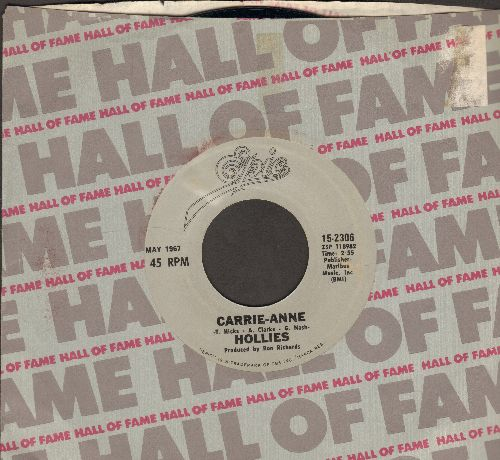Hollies - He Ain't Heavy, He's My Brother/Carrie-Ann (double hit re-issue) - NM9/ - 45 rpm Records