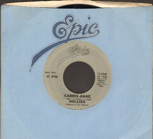 Hollies - He Ain't Heavy, He's My Brother/Carrie-Ann (double hit re-issue) - EX8/ - 45 rpm Records