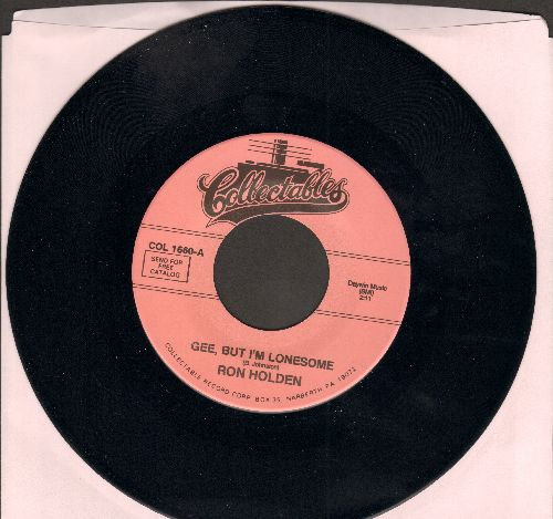 Holden, Ron - Gee, But I'm Lonesome/Susie Jane (double-hit re-issue) - M10/ - 45 rpm Records