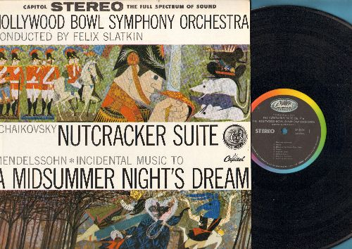 Hollywood Bowl Sympothy Orchestra - The Nutcracker Suite Op. 71a/Incidental Music to A Midsummer Nights's Dream (vinyl STEREO LP record) - NM9/NM9 - LP Records