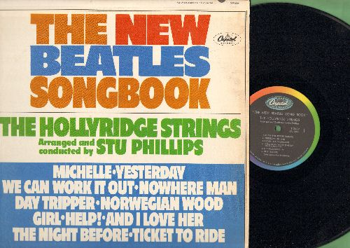 Hollyridge Strings - The New Beatles Songbook: Michelle, Yesterday, We Can Work It Out, Nowhere Man, And I Love Her, Ticket To Ride (vinyl MONO LP record) - NM9/EX8 - LP Records