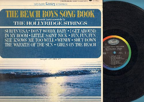 Hollyridge Strings - The Beach Boys Song Book: Surfin' U.S.A., I Get Around, Little Saint Nick, Fun Fun Fun, Wendy Shut Down  (vinyl STEREO LP record) - EX8/VG7 - LP Records