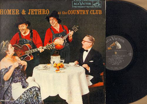 Homer & Jethro - At The Country Club: Fascination, Sixteen Tons, Hart Brake Motel, Lullaby Of Bird Dog, Let Me Go Blubber (vinyl MONO LP record) - EX8/NM9 - LP Records
