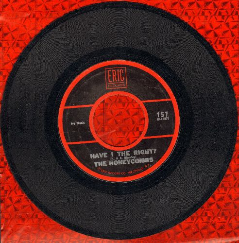 Honeycombs - Have I The Right?/I Can't Stop Now (double-hit re-issue) - EX8/ - 45 rpm Records