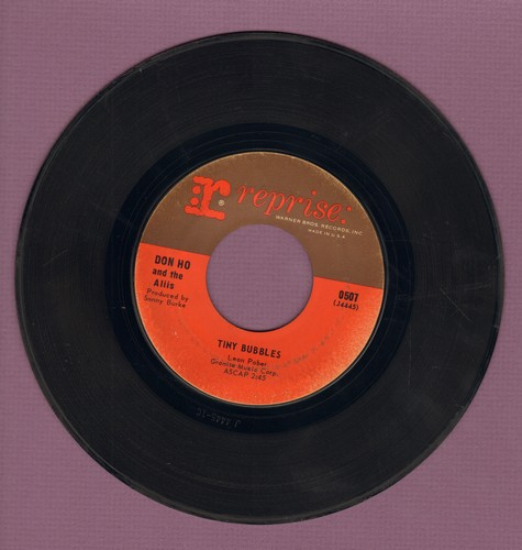 Ho, Don - Tiny Bubbles/Born Free  - VG7/ - 45 rpm Records