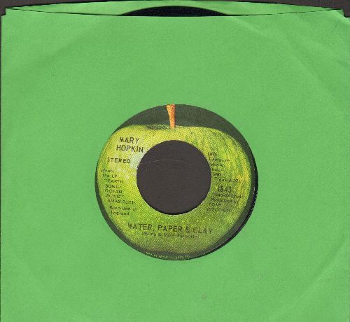 Hopkin, Mary - Water, Paper & Clay/Streets Of London - NM9/ - 45 rpm Records