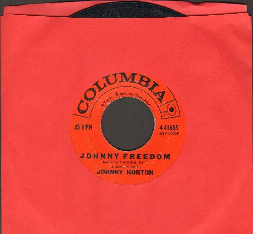 Horton, Johnny - Johnny Freedom/Comanche  - VG7/ - 45 rpm Records