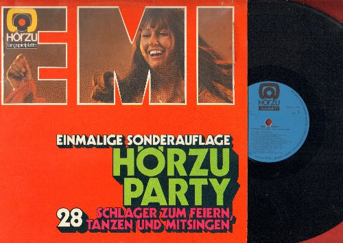 Horzu Party - Horzu Party - 28 Schlager zum Feiern, Tanzen und Mitsingen (vinyl STEREO LP record, German Pressing) - NM9/NM9 - LP Records