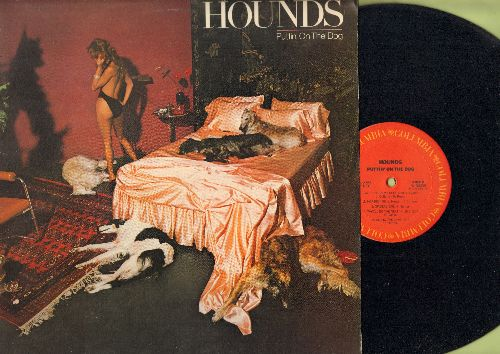 Hounds - Puttin' On The Dog: Do Wah Diddy Diddy, Under My Thumb, Workin' On My Cool, Along The Lane (vinyl STEREO LP record) - NM9/EX8 - LP Records