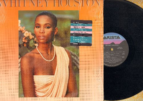 Houston, Whitney - Whitney Houston: How Will I Know, Greatest Love Of All, Saving All My Love For You (vinyl STEREO LP record) - NM9/NM9 - LP Records