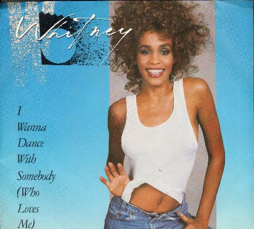 Houston, Whitney - I Wanna Dance With Somebody/Moment Of Truth (with picture sleeve) - EX8/EX8 - 45 rpm Records
