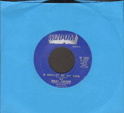 Beat Hoven - A Medley Of My Hits/A Jab To Thye Jaw - NM9/ - 45 rpm Records