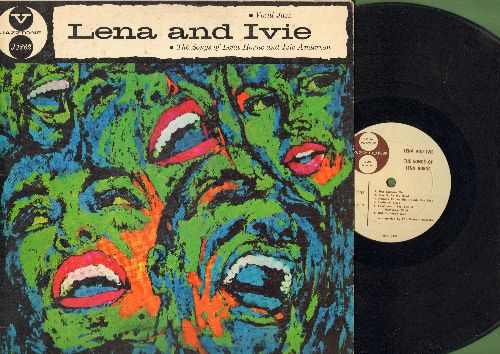 Horne, Lena & Ivie Anderson - Lena & Ivie - The Songs Of Lena Horne and Ivie Anderson: Just Squeeze Me, Butter And Egg Man, Hesitatin' Blues, I Got It Bad And That Ain't Good (vinyl LP record, 1957 first pressing) - VG7/VG6 - LP Records