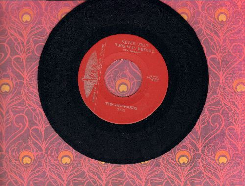 Sheppards - Never Felt This Way Before/Island Of Love (authentic-looking re-issue) - M10/ - 45 rpm Records
