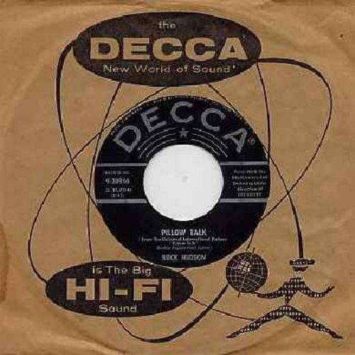Hudson, Rock - Pillow Talk/Roly Poly (with Decca company sleeve) - VG6/ - 45 rpm Records