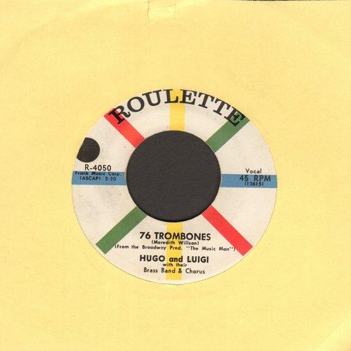 Hugo & Luigi - 76 Trombones/Twilight In Tennesse (minor wol) - NM9/ - 45 rpm Records