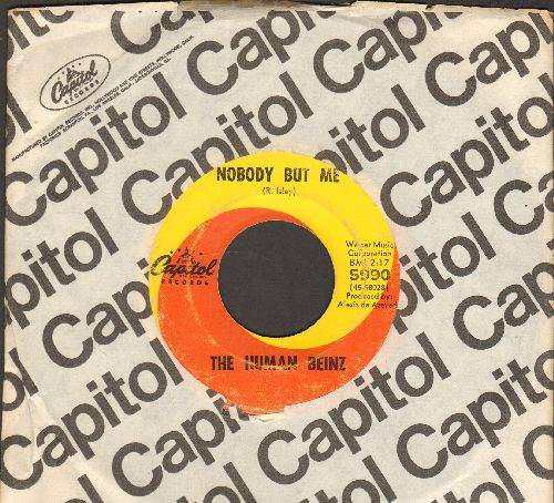 Human Beinz - Nobody But Me/Sueno (with Capitol company sleeve) - VG7/ - 45 rpm Records