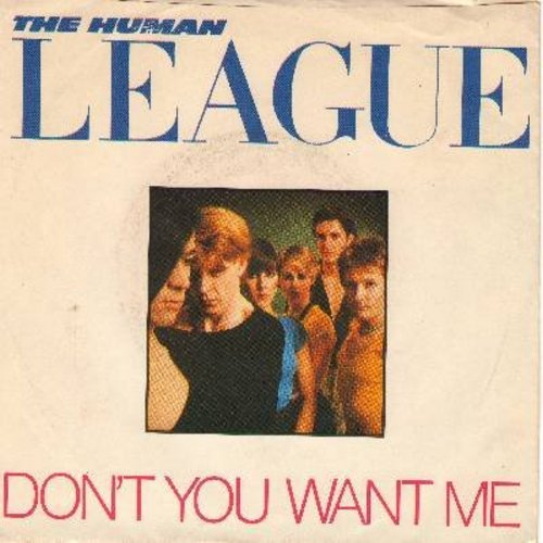 Human League - Don't You Want Me/Seconds (with picture sleeve) - NM9/EX8 - 45 rpm Records