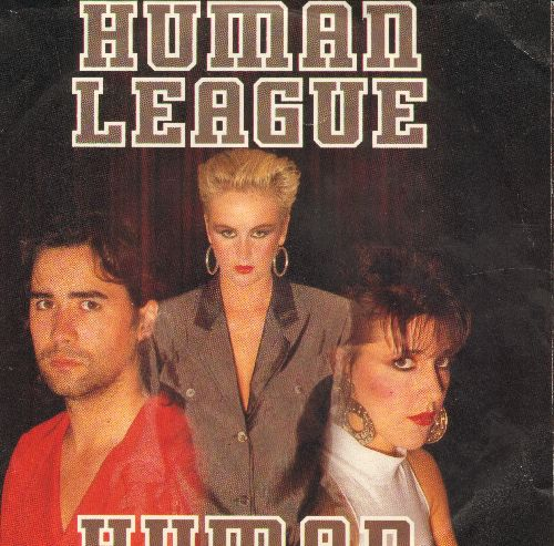 Human League - Human/Human (Instrumental) (with picture sleeve) - NM9/NM9 - 45 rpm Records
