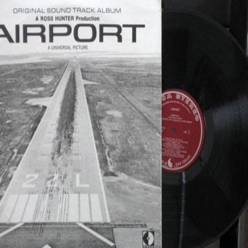 Airport - Airport: Original Motion Picture Sound Track (vinyl STEREO LP record) - NM9/EX8 - LP Records