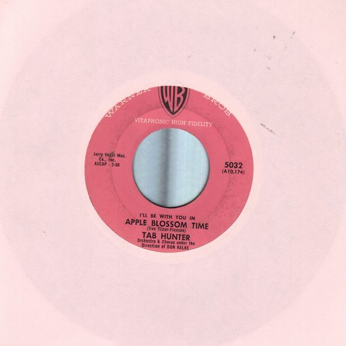 Hunter, Tab - Apple Blossom Time/My Only Love - EX8/ - 45 rpm Records
