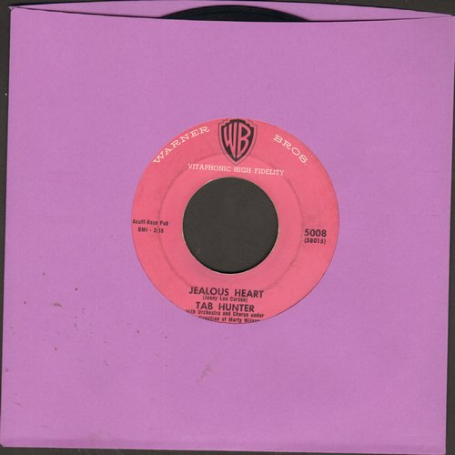 Hunter, Tab - Jealous Heart/Lonesome Road  - EX8/ - 45 rpm Records