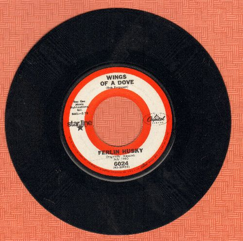 Husky, Ferlin - Wings Of A Dove/Gone (double-hit re-issue) - EX8/ - 45 rpm Records