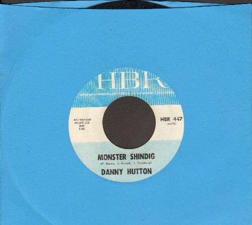 Hutton, Danny - Monster Shindig/Roses And Rainbows (RARE HALLOWEEN NOVELTY!)  - EX8/ - 45 rpm Records