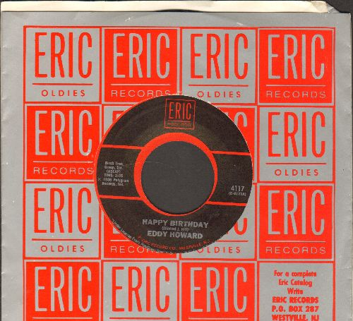 Howard, Eddy - Happy Birthday/Anniversary Waltz (re-issue with Epic company sleeve) - NM9/ - 45 rpm Records