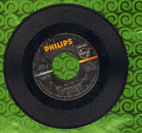 Hyland, Brian - Now I Belong To You/(That's The Way Our Love Goes) - EX8/ - 45 rpm Records