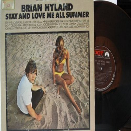 Hyland, Brian - Stay And Love Me All Summer: Just A Dream, Devil Or Angel, Dreamy Eyes, Don't Cry Donna (vinyl MONO LP record) - NM9/VG6 - LP Records