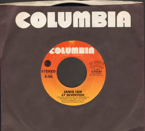 Ian, Janis - At Seventeen/Stars (with Columbia company sleeve) - NM9/ - 45 rpm Records