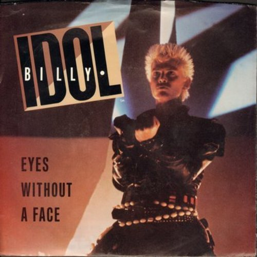 Idol, Billy - Eyes Without A Face/Blue Highway (with picture sleeve) - NM9/EX8 - 45 rpm Records