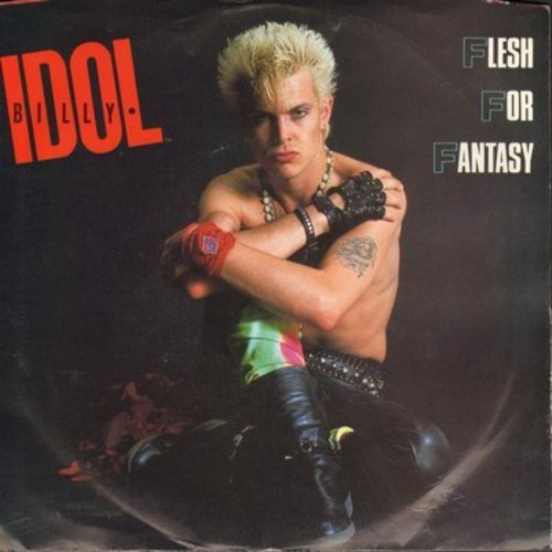 Idol, Billy - Flesh For Fantasy/The Dead Next Door (with picture sleeve) - NM9/EX8 - 45 rpm Records