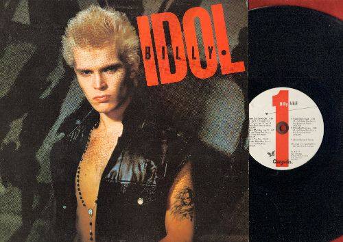 Idol, Billy - Billy Idol: White Wedding, Hot In The City, Dancing With Myself, Love calling (vinyl LP record) - NM9/EX8 - LP Records