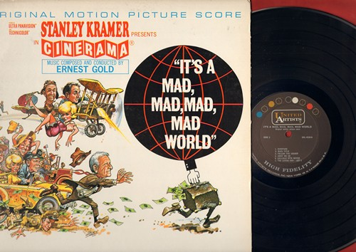 It's A Mad, Mad, Mad, Mad World - It's A Mad, Mad, Mad, Mad World - Original Motion Picture Score, composed and conducted by Ernest Gold - includes the Title Song and