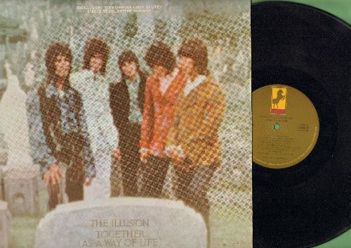Illusion - Together (As A Way Of Life): How Does It Feel, Happy Days, Don't Push It, Peace Pipe, Little Boy (vinyl STEREO LP record) - NM9/EX8 - LP Records