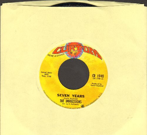 Impressions - Choice Of Colors/Mighty Mighty Spade & Whitey - NM9/ - 45 rpm Records