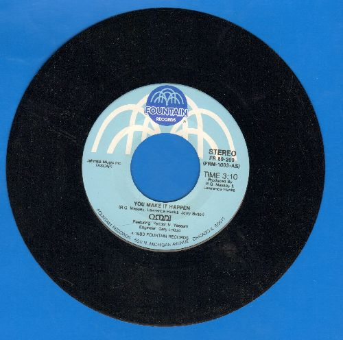 Omni - You Make It Happen/When Do You Stop To Think - M10/ - 45 rpm Records