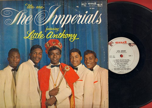 Little Anthony & The Imperials - We Are The Imperials: Tears On My Pillow, Over The Rainbow, Cha Cha Henry, When You Wish Upon A Star, The Diary (vinyl MONO LP record) - VG6/VG6 - LP Records
