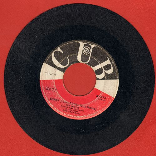 Impalas - Sorry (I Ran All The Way Home)/Fool, Fool, Fool (wol) - VG6/ - 45 rpm Records