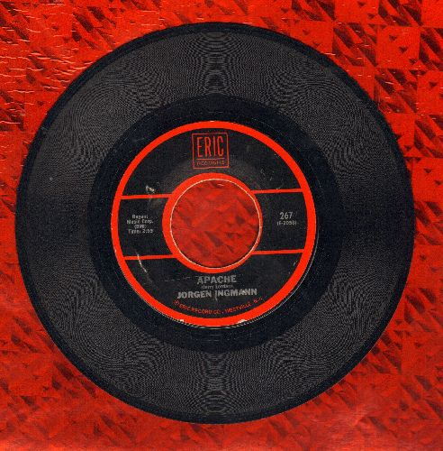 Ingmann, Jorgen - Apache/Tequila (by The Champs on flip-side) (re-issue) - NM9/ - 45 rpm Records