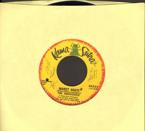 Innocence - Mairzy Doats/A Lifetime Lovin' You (wol) - EX8/ - 45 rpm Records
